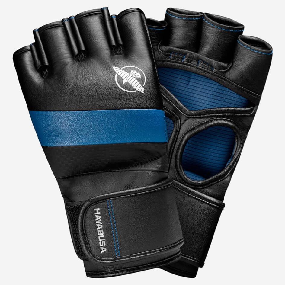 Hayabusa T3 4oz MMA Gloves - Black / Blue