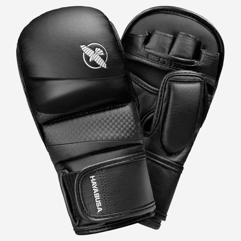 Hayabusa T3 7oz Hybrid Gloves - Black