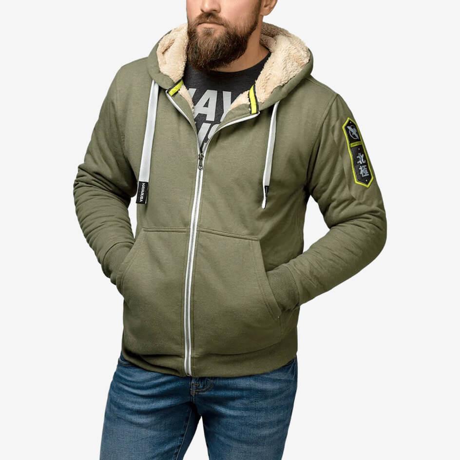 Hayabusa Heavyweight Zip Hoodie - Arctic - Green
