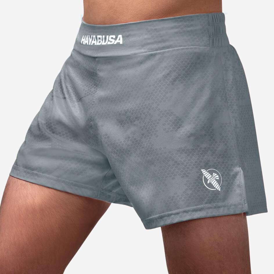 Hayabusa Arrow Kickboxing Shorts - Grey