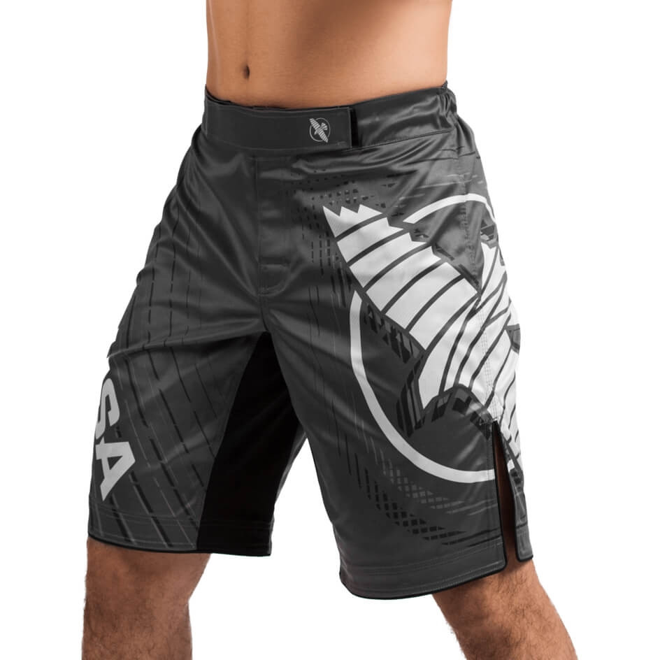 Hayabusa Chikara 4 Fight Shorts - Grey