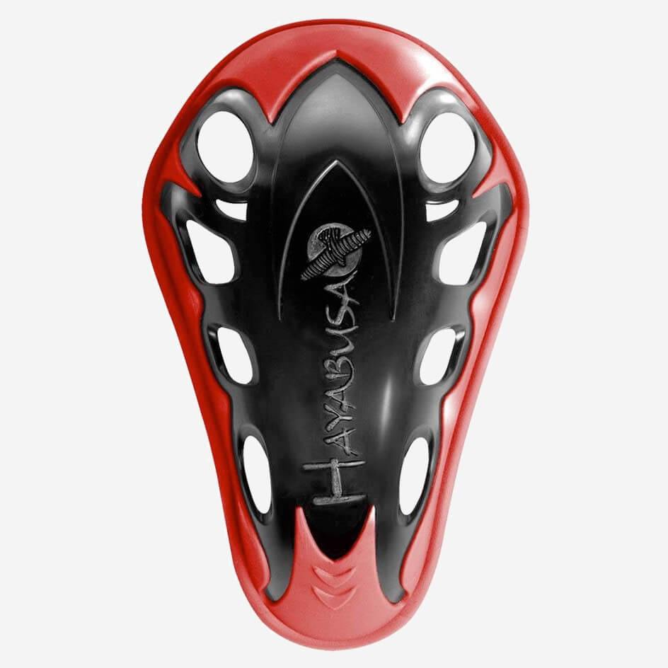 Hayabusa Exoforged Protective Cup Red