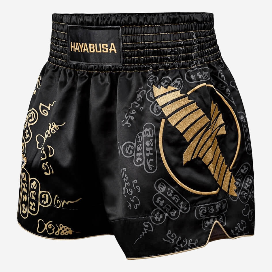 Hayabusa Falcon Muay Thai Shorts - Black