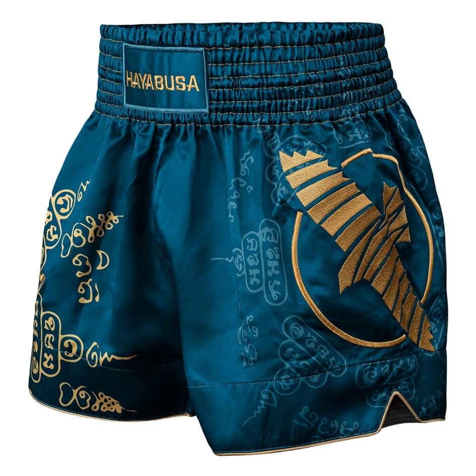 Hayabusa Falcon Muay Thai Shorts - Blue