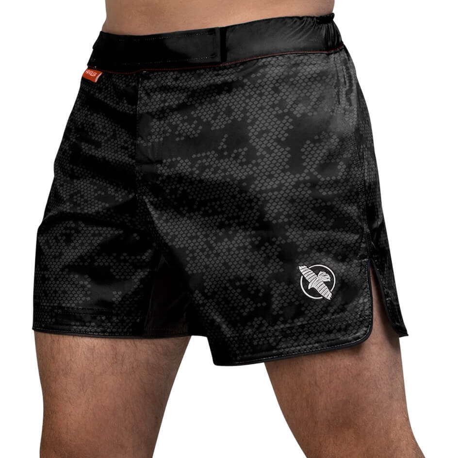 Hayabusa Hex Mid-Length Fight Shorts - Black