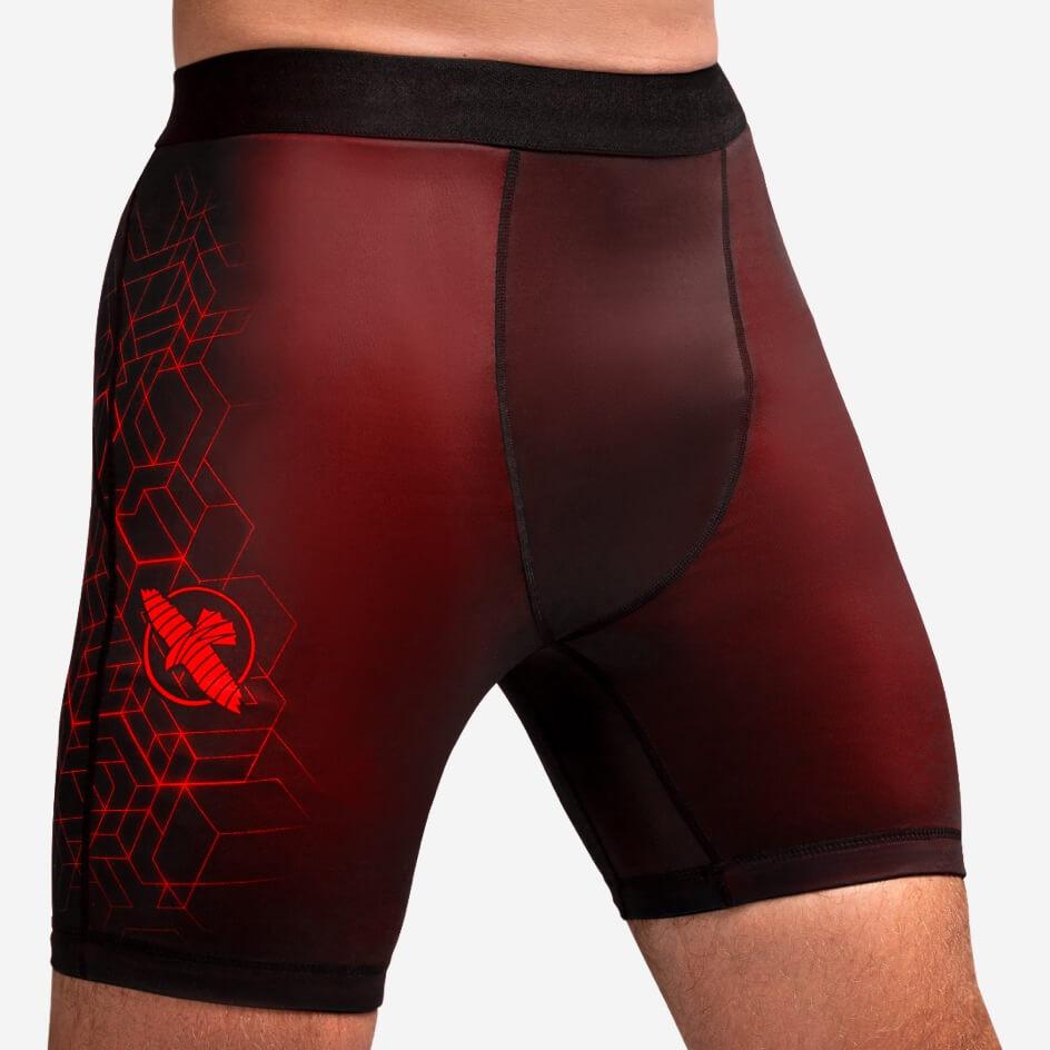 Hayabusa Geo Vale Tudo Shorts - Red