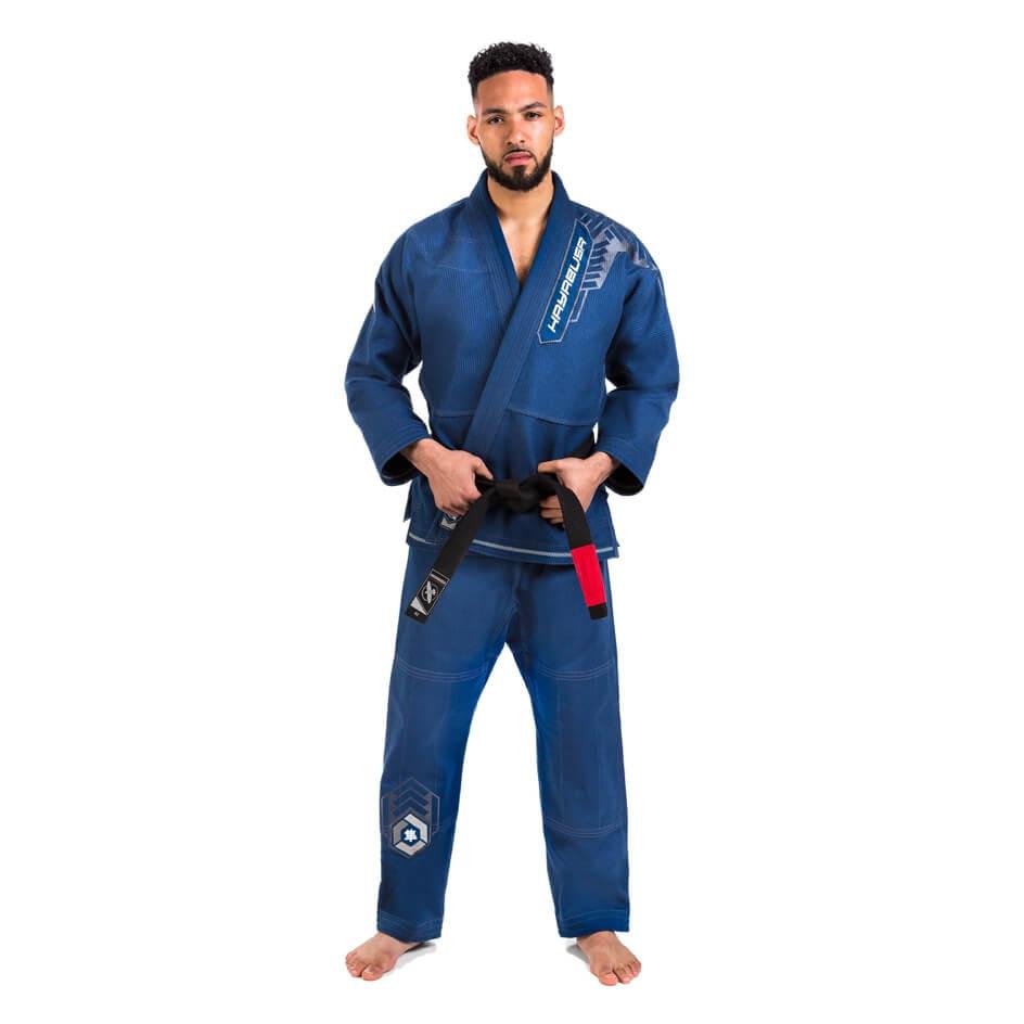 Hayabusa Goorudo 4 Gold Weave Jiu Jitsu Gi - Blue