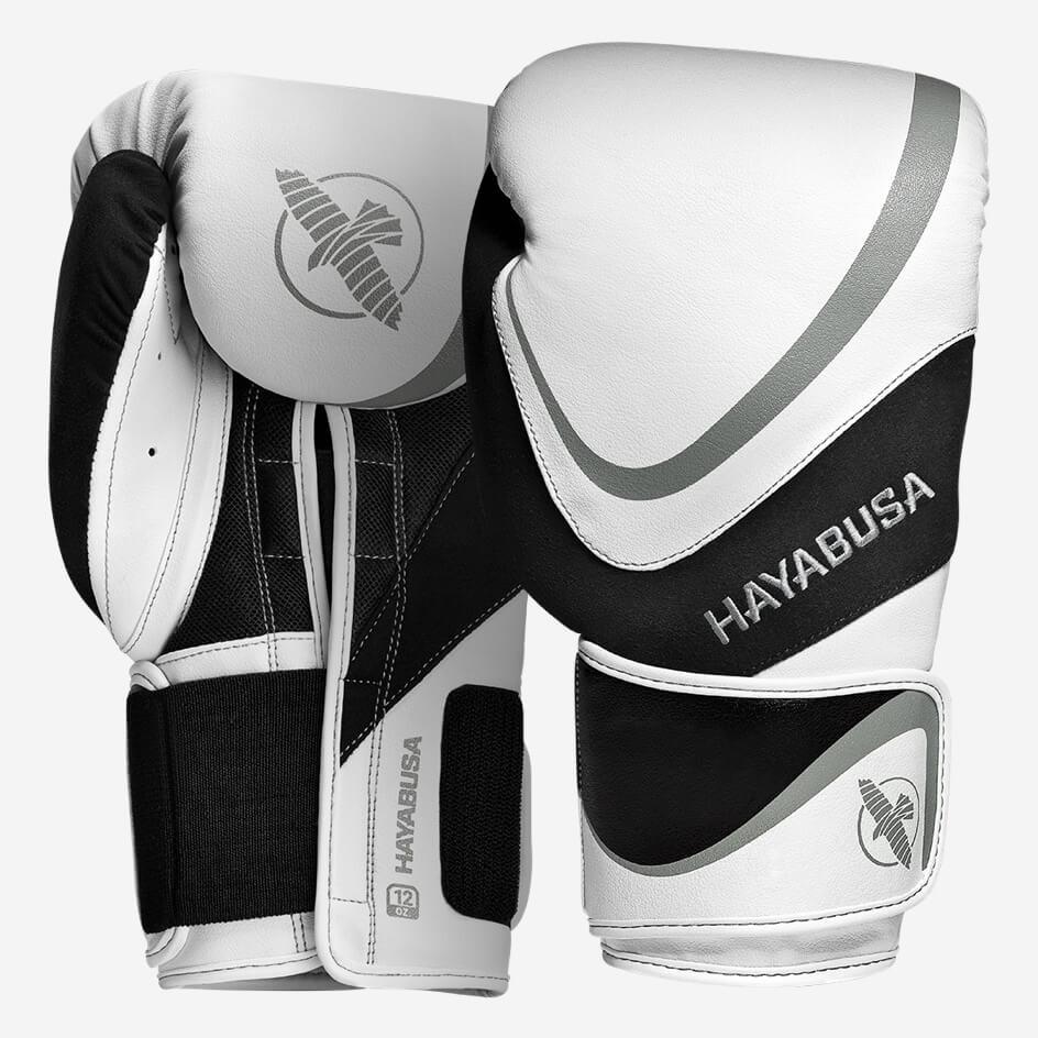 Hayabusa H5 Boxing Gloves - White / Grey