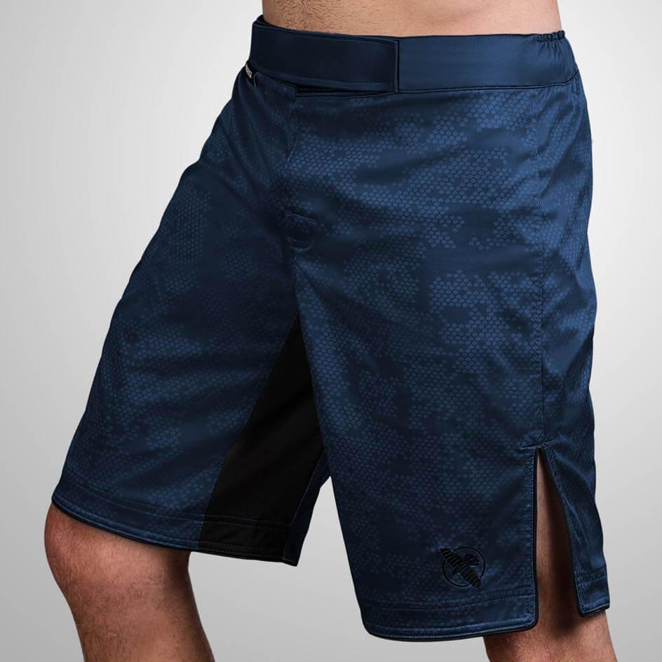 Hayabusa Hexagon Fight Shorts - Navy