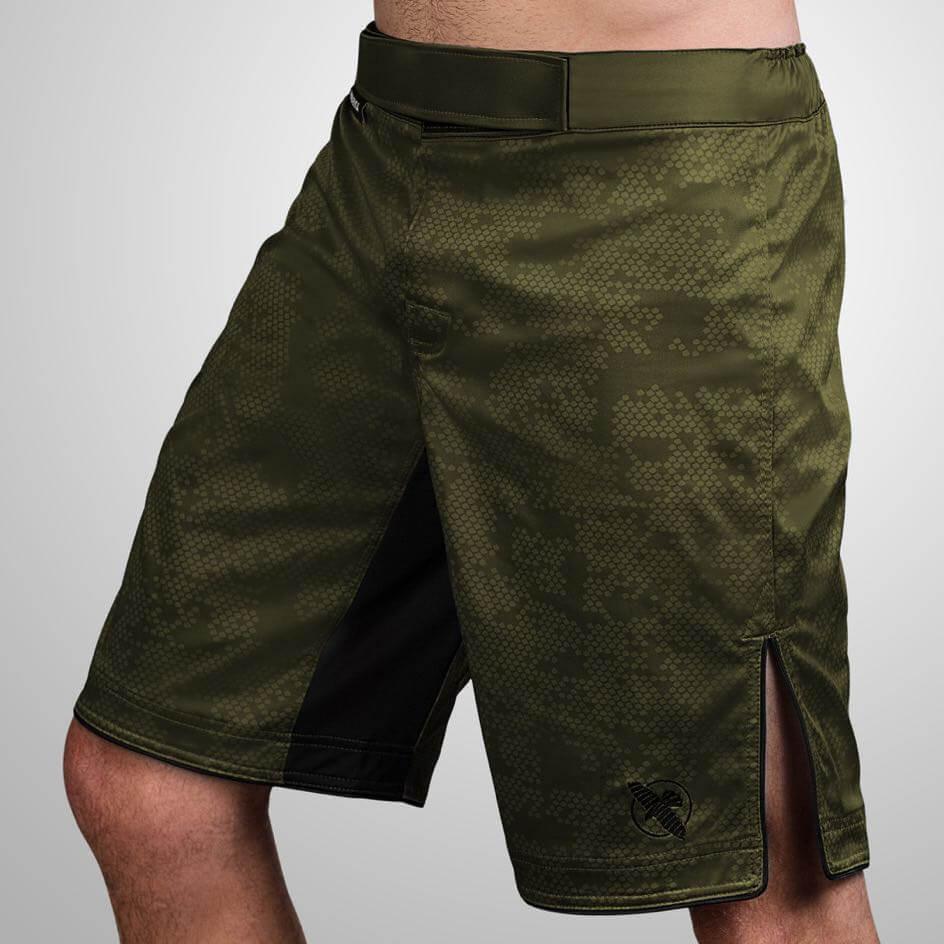 Hayabusa Hexagon Fight Shorts - Green