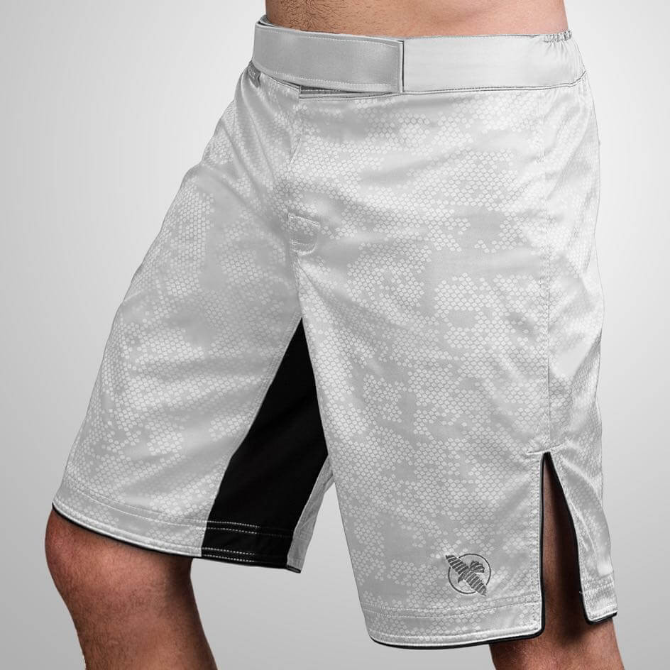 Hayabusa Hexagon Fight Shorts - White