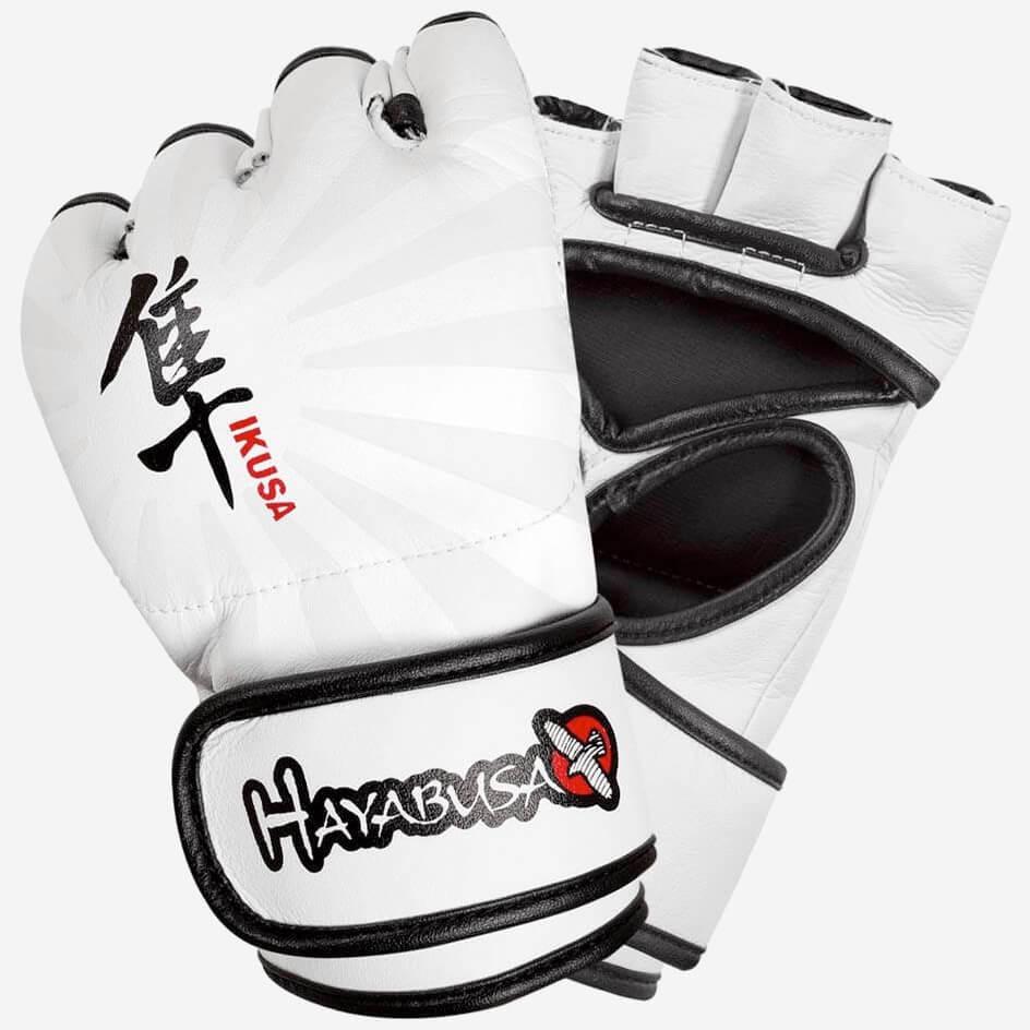 Hayabusa Ikusa 4oz MMA Gloves - White