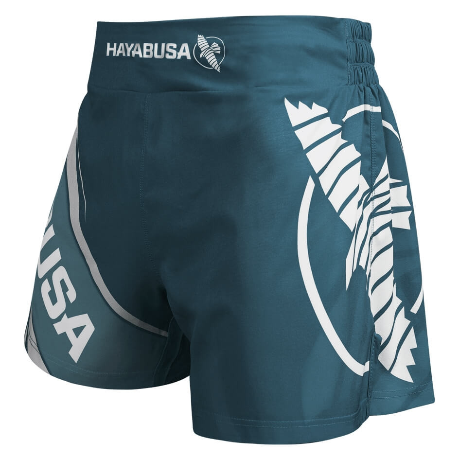 Hayabusa Kickboxing Shorts 2.0 - Steel Blue