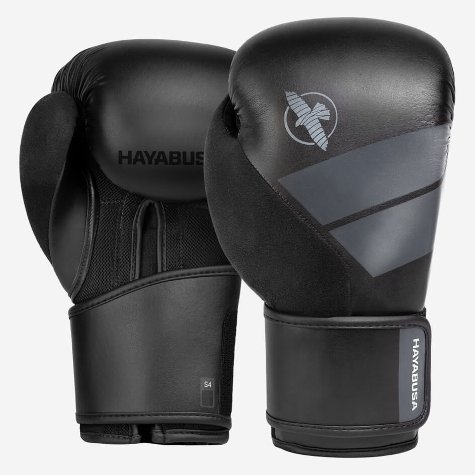 Hayabusa S4 Boxing Gloves - Black