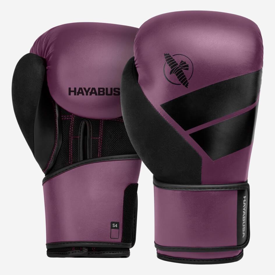 Hayabusa S4 Boxing Gloves - Wine