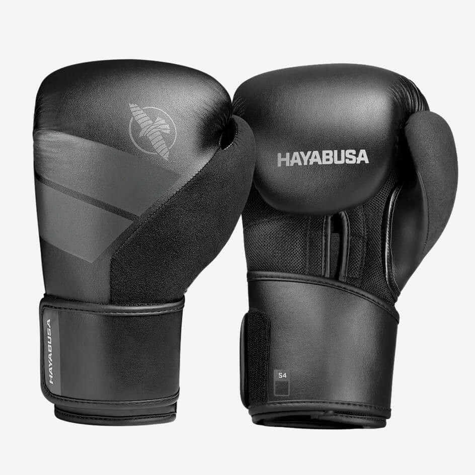 Hayabusa S4 Boxing Gloves - Black