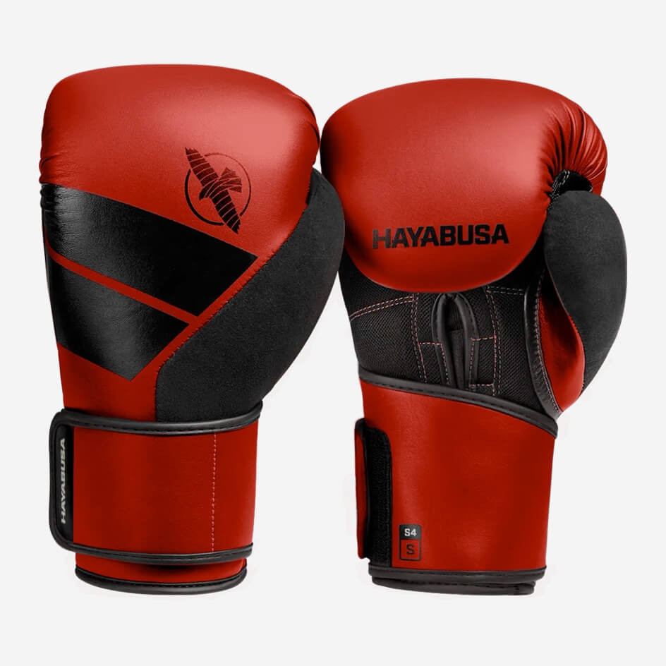 Hayabusa S4 Boxing Gloves - Red
