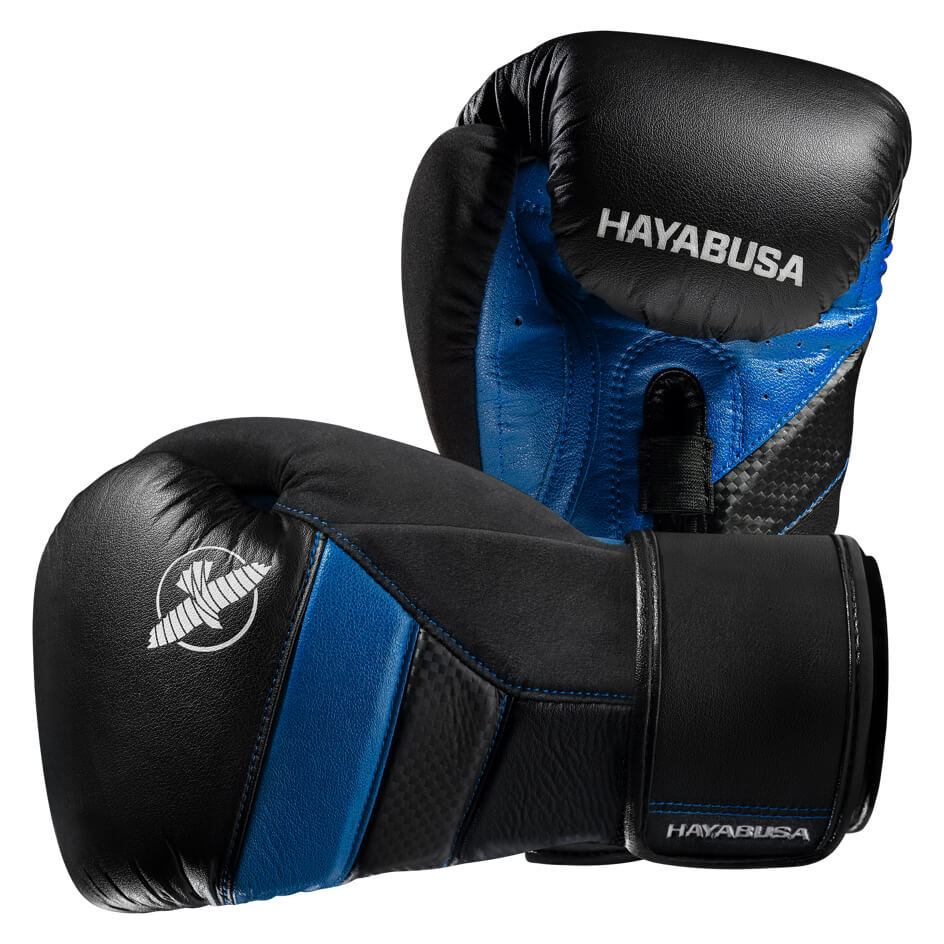Hayabusa T3 Boxing Gloves - Black / Blue **PRE ORDER FOR DELIVERY MID-APRIL**