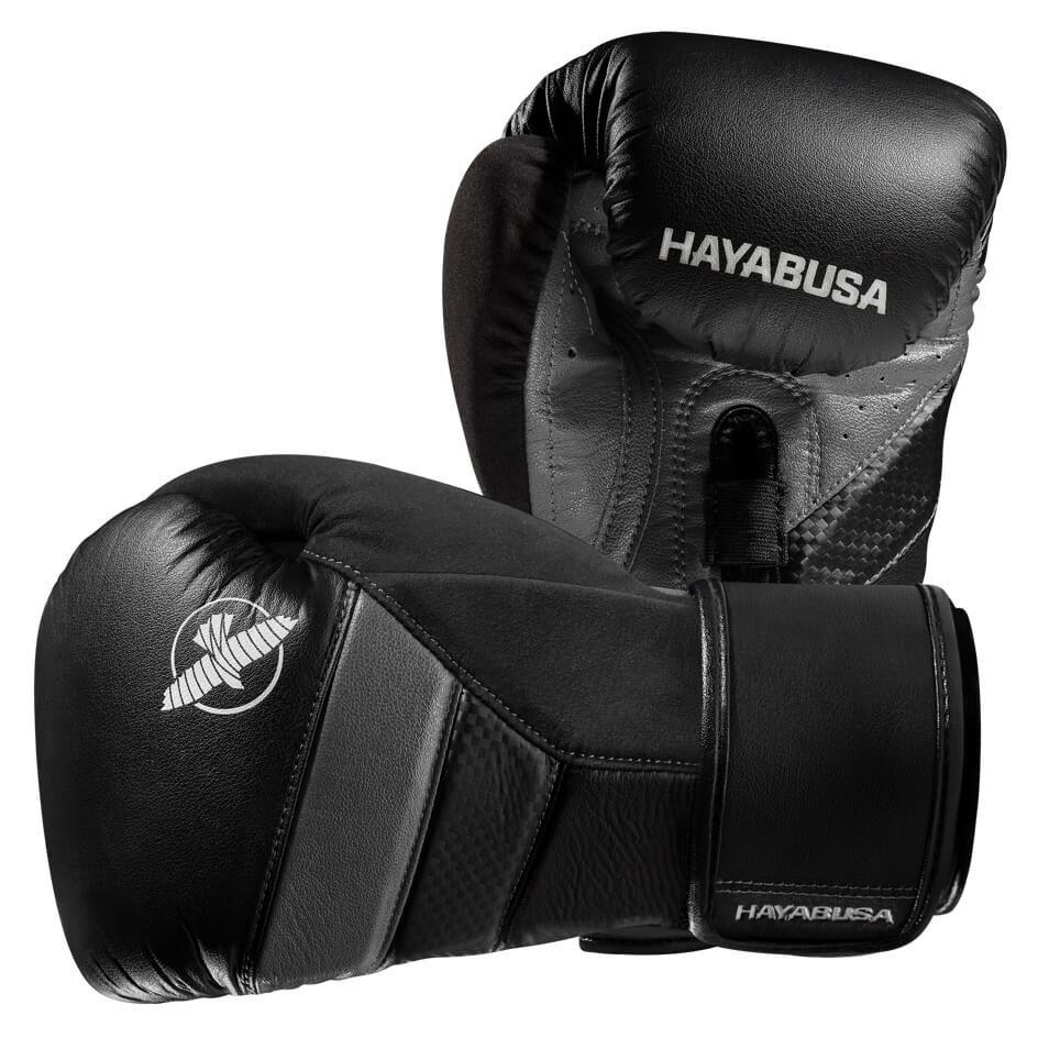 Hayabusa T3 Boxing Gloves - Black / Grey