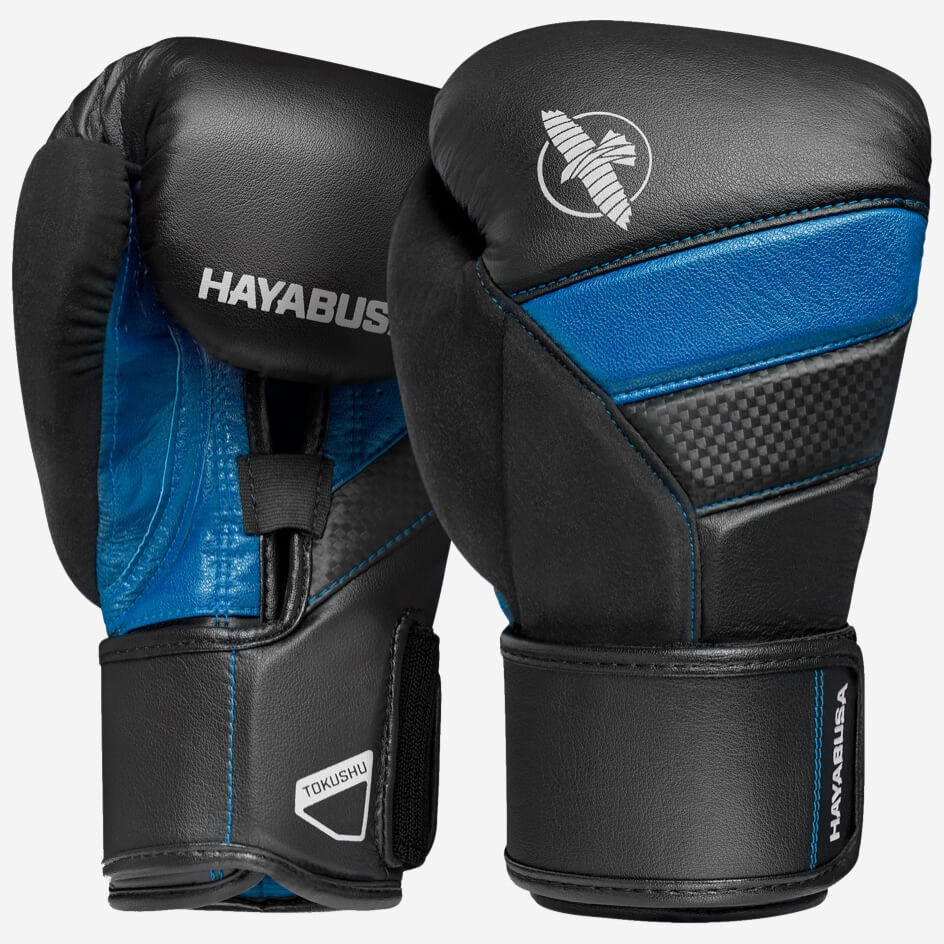 Hayabusa T3 Boxing Gloves - Black / Blue