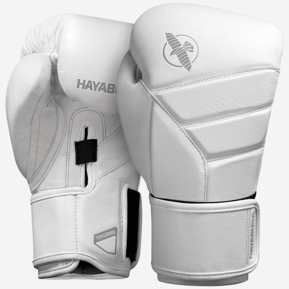 Hayabusa T3 Kanpeki Boxing Gloves - White