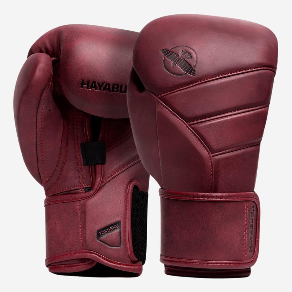 Hayabusa T3 LX Boxing Gloves - Crimson