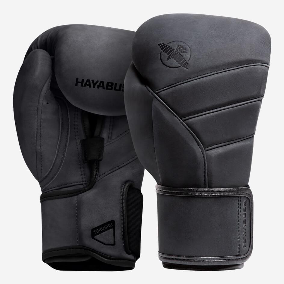 Hayabusa T3 LX Boxing Gloves - Obsidian