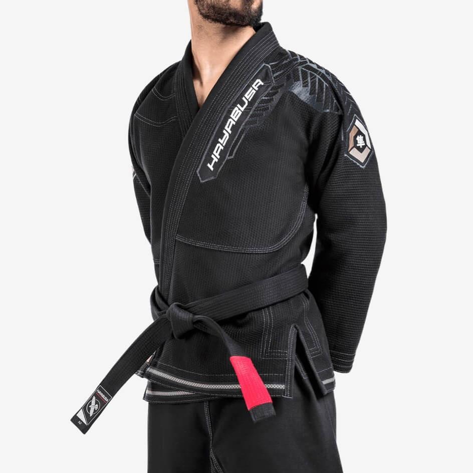 Hayabusa Gold Weave Warrior Jiu Jitsu Gi - Black