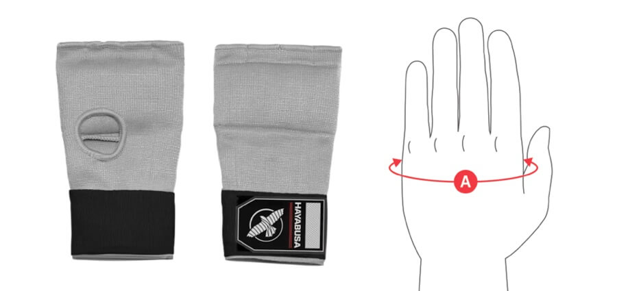Quick Gel Handwrap Size Guide